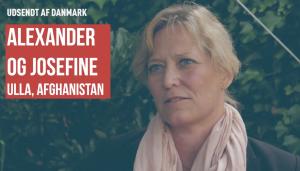 Ulla Afghanistan Feltpræst