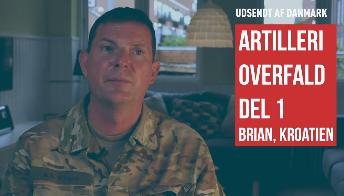 Brian artilleri Kroatien